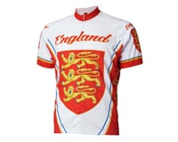 Image 2 for World Jerseys England Short Sleeve Jersey (Red/White)
