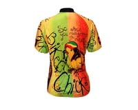 Image 1 for World Jerseys Women's Rasta Chick Short Sleeve Jersey (Orange)