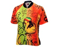Image 2 for World Jerseys Women's Rasta Chick Short Sleeve Jersey (Orange)