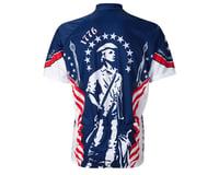 Image 1 for World Jerseys 1776 Minutemen Short Sleeve Jersey (Blue/White)