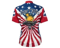 Image 1 for World Jerseys Women's American Chick Short Sleeve Jersey (Wh/Red)