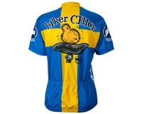 Image 1 for World Jerseys Women's Swedish Chick Short Sleeve Jersey (Blue/Yellow)