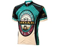 Image 2 for World Jerseys Moab Brewery Derailleur Ale 3/4 Sleeve Sleeve Jersey (Turquoi)