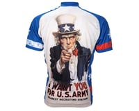 Image 1 for World Jerseys Uncle Sam Short Sleeve Jersey (White)