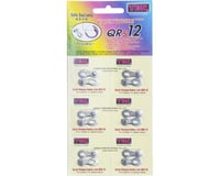 Ybn QRS Reusable Chain Links (Silver) (12 Speed) (x6)