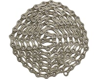 Ybn Nickel Plated Silver 11-speed Chain, 116 Links, 5.5mm Wide with One Reusable