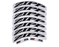 ZIPP Decal Set (404 Matte Black Logo) (Complete for One Wheel)