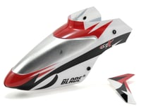 Blade Complete Canopy w/Vertical Fin (White) (mSR X)