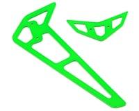 Blade 360 CFX 3S Carbon Fiber Fins (Green)