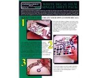 Bare Metal Foil 119 White Decal Ink Jet Film 8.5x11' (1 Sheet) | relatedproducts