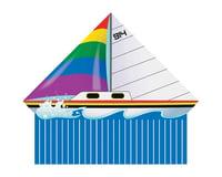 "Brain Storm Products 70402 WNS Delta XT Sail Boat 54"""