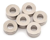 "Team Brood B-Mag 2.5mm/3.0mm/3.5mm Magnesium ""C"" Washer Set (6) (HB Racing TCX)"