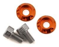 Team Brood M3 Motor Washer Heatsink w/Screws (Orange) (2)