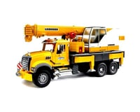 Bruder Toys MACK Granite Liebherr Crane Truck