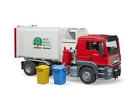 Bruder Toys 03761 Side Loading Garbage Truck Vehicles-Toys