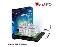 Cubic Fun White House, 56 pieces
