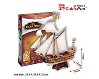 Cubic Fun Yacht Mary 3D Jigsaw Puzzle with 83 pieces, made by CubicFun