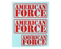 CEN Ford F450 Racing Red American Force Decal CEGCD0963