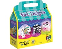 Creativity for Kids (1487000) Hot Doggies Craft Kit – Makes 3 Bobble-Head Dogs