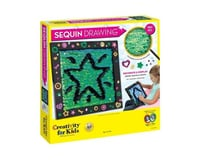 Creativity For Kids Sequin Drawing Craft Kit