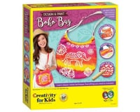 Creativity For Kids 6169000 Design and Paint Boho Bag-Makes 1 Kids Purse