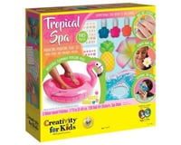 Creativity For Kids 6173000 Tropical Spa Manicure and Pedicure Play Set