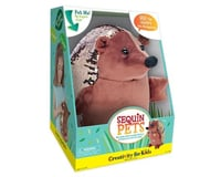 Creativity For Kids 6175000 Sequin Pets Stuffed Animal - Happy the Hedgehog