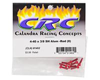"""Image 2 for CRC 4-40x3/8"""" Aluminum Cap Head Screw (8)"""