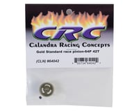 """Image 2 for CRC """"Gold Standard"""" 64P Aluminum Pinion Gear (42T)"""
