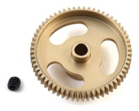 """CRC """"Gold Standard"""" 64P Aluminum Pinion Gear (60T)   alsopurchased"""