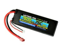Common Sense RC Lectron Pro 11.1V 7600mAh 75C Hard Case Lipo Battery with Deans-type Connector