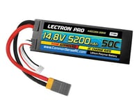 Common Sense RC Lectron Pro 14.8V 5200mAh 50C Lipo Battery Hard Case with XT60 Connector + CSRC adapter for XT60 batteri