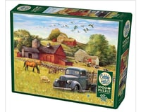 Cobble Hill Puzzles Cobble Hill Jigsaw Puzzle - Summer Afternoon on the Farm - 1000 Piece