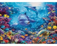 Cobble Hill Puzzles COBBLE HILL 80131 Dolphins At Play 1,000 piece Jigsaw Puzzle