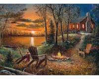 Cobble Hill Puzzles Cobble Hill 85009 Fireside 500 Piece Jigsaw Puzzle