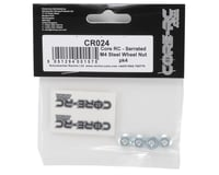 Image 2 for Core-RC 4mm Steel Serrated Wheel Nuts (4)
