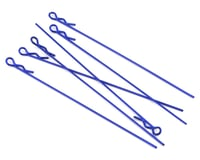 Core-RC Extra Long 1/10 Body Clip (Metallic Blue) (6)