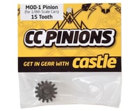 Image 2 for Castle Creations Mod 1 Pinion Gear w/5mm Bore (15T)