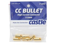Image 2 for Castle Creations 5.5mm High Current Bullet Connector Set