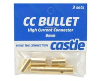 Image 2 for Castle Creations 8.0mm High Current CC Bullet Connector Set