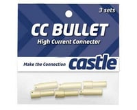 Castle Creations *BC* 4MM BULLET CONN 16G/13G 75A 3PC