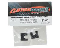 Image 2 for Custom Works Molded Front Servo Mounts