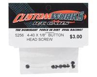 "Image 2 for Custom Works 4-40x1/8"" Button Head Screws (8)"