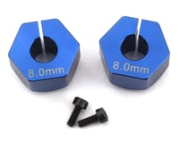 Image 1 for Custom Works 12mm Outlaw 4 Clamping Hex (2) (+8mm Offset) (5mm Axle)