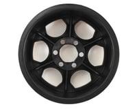 Image 2 for Crawler Innovations Double Deuce 6 Bolt 2.2 Crawler Wheel (Black) (2) (1.5 Wide)