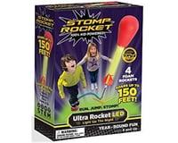 D And L Stomp Rocket (20500) Ultra Rocket LED, 4 Rockets [Packaging May Vary]