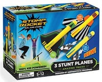 Image 1 for D And L Stomp Rocket (40000) Stunt Planes, 3 Planes