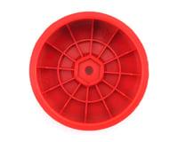 """Image 2 for DE Racing 12mm Hex """"Speedline"""" 2.2 1/10 Buggy Front Wheels (4) (B6/RB6) (Red)"""