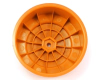 "Image 2 for DE Racing 12mm Hex ""Borrego"" Short Course Wheels (Orange) (2) (SC6/Slash/Blitz)"