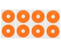 Image 1 for DE Racing 1/10 Buggy Wheel Sticker Disk (Fluorescent Red-Orange) (8)